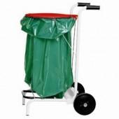 Carro para Sacos de Lixo, Dimensões de 410x410x1000 mm (LxPxA) (transporte incluído) - Refª 100823