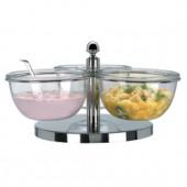 Conjunto de Taças para Iogurte e Saladas de Frutas (transporte incluído) - Refª 100784