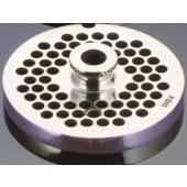 Grelha / Disco de Corte para Moinho de Carne Nº 8 com Ø 8 mm - Refª 100448