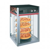 Expositor de Pizzas Aquecido de 4 Grelhas Rotativas (transporte incluído) - Refª 101130
