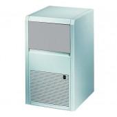 Fabricador de Cubos de Gelo Industrial com 13 gr, Capacidade de 22 kg/24h e Reserva de 4 kg, Máquina em ABS com Condensação a Água (transporte incluído) - Refª 102458