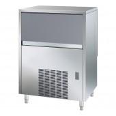 Fabricador de Cubos de Gelo Industrial com 18 gr, Capacidade de 67 kg/24h e Reserva de 40 kg, Máquina com Condensação a Água (transporte incluído) - Refª 101814