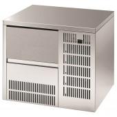 Fabricador de Cubos de Gelo Industrial Encastrável com 13 gr, Capacidade de 24 kg/24h e Reserva de 6 kg, Máquina com Condensação a Ar (transporte incluído) - Refª 101820