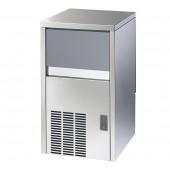 Fabricador de Cubos de Gelo Industrial com 18 gr, Capacidade de 29 kg/24h e Reserva de 9 kg, Máquina com Condensação a Água (transporte incluído) - Refª 101811
