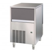 Fabricador de Cubos de Gelo Industrial com 18 gr, Capacidade de 47 kg/24h e Reserva de 25 kg, Máquina com Condensação a Ar (transporte incluído) - Refª 100192