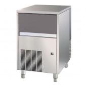 Fabricador de Cubos de Gelo Industrial com 18 gr, Capacidade de 35 kg/24h e Reserva de 16 kg, Máquina com Condensação a Água (transporte incluído) - Refª 101812