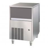 Fabricador de Cubos de Gelo Industrial com 18 gr, Capacidade de 47 kg/24h e Reserva de 25 kg, Máquina com Condensação a Água (transporte incluído) - Refª 101813