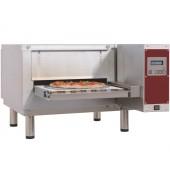 Forno de Esteira Elétrico Industrial Ventilado para Pizzas com Largura até Ø 400 mm, 6300 Watts (transporte incluído) - Refª 102618