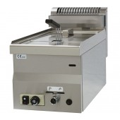 Fritadeira Industrial de Bancada a Gás de 8 Litros da Linha 600, 5850 kcal/h, Potência de 6800 Watts (transporte incluído) - Refª 102532