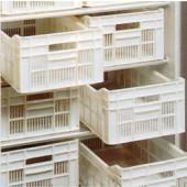 Kit de 12 Caixas de Armazenamento, Cestos em Polietileno com Dimensões Individuais de 500x300x175 mm (LxPxA) (transporte incluído) - Refª 102507
