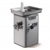 Moinho Triturador Refrigerado Industrial de Carne nº 22 com Monobloco em Aço Inoxidável, 350 kg/h, 1,5 Hp, 1100 Watts (transporte incluído) - Refª 102482