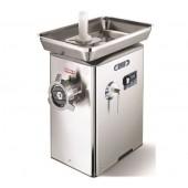 Moinho Triturador Refrigerado Industrial de Carne nº 32 com Monobloco em Aço Inoxidável, 500 kg/h, 2,5 Hp, 1840 Watts (transporte incluído) - Refª 100468
