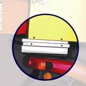 KIT Universal para Fixação na Moto da Caixa para Pizzas - Refª 100906