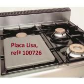 Placa Lisa para Fogão para 1 Queimador, Chapa com Dimensões de 320x270x15 mm (LxPxA) - Refª 100726