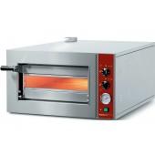 Forno de Pizzas Eléctrico Monofásico para Pizzas até Ø 420 mm, Temperatura +450º C, 2300 Watts (transporte incluído) - Refª 100942