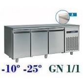 Bancada de Congelação GN 1/1 de 405 Litros com Alçado da Linha 700 (transporte incluído) - Refª 101155