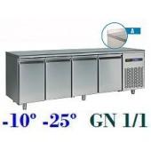Bancada de Congelação GN 1/1 de 550 Litros com Alçado da Linha 700 (transporte incluído) - Refª 101157