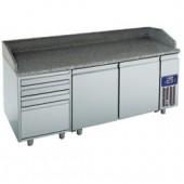 Mesa de Preparação de Pizzas, 395 Litros (transporte incluído) - Refª 100924