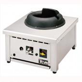 Fogão a Gás Asiático WOK de 1 Queimador 28 kW (transporte incluído) - Refª 100397